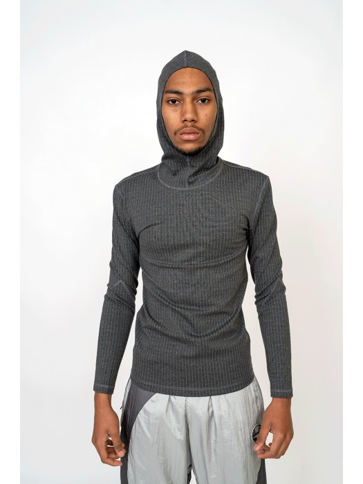 Liam Hodges Pinstripe Hooded Base