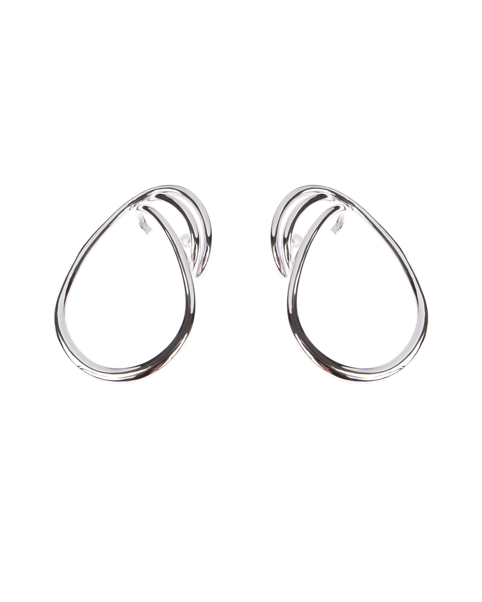 Charlotte Chesnais Maxi Round Trip Earrings