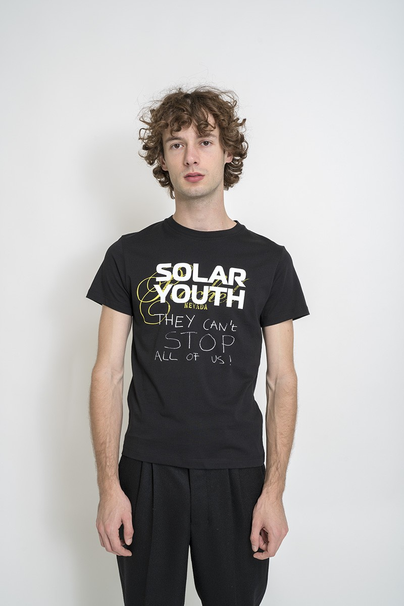 Raf Simons Solar Youth-print cotton-jersey T-shirt