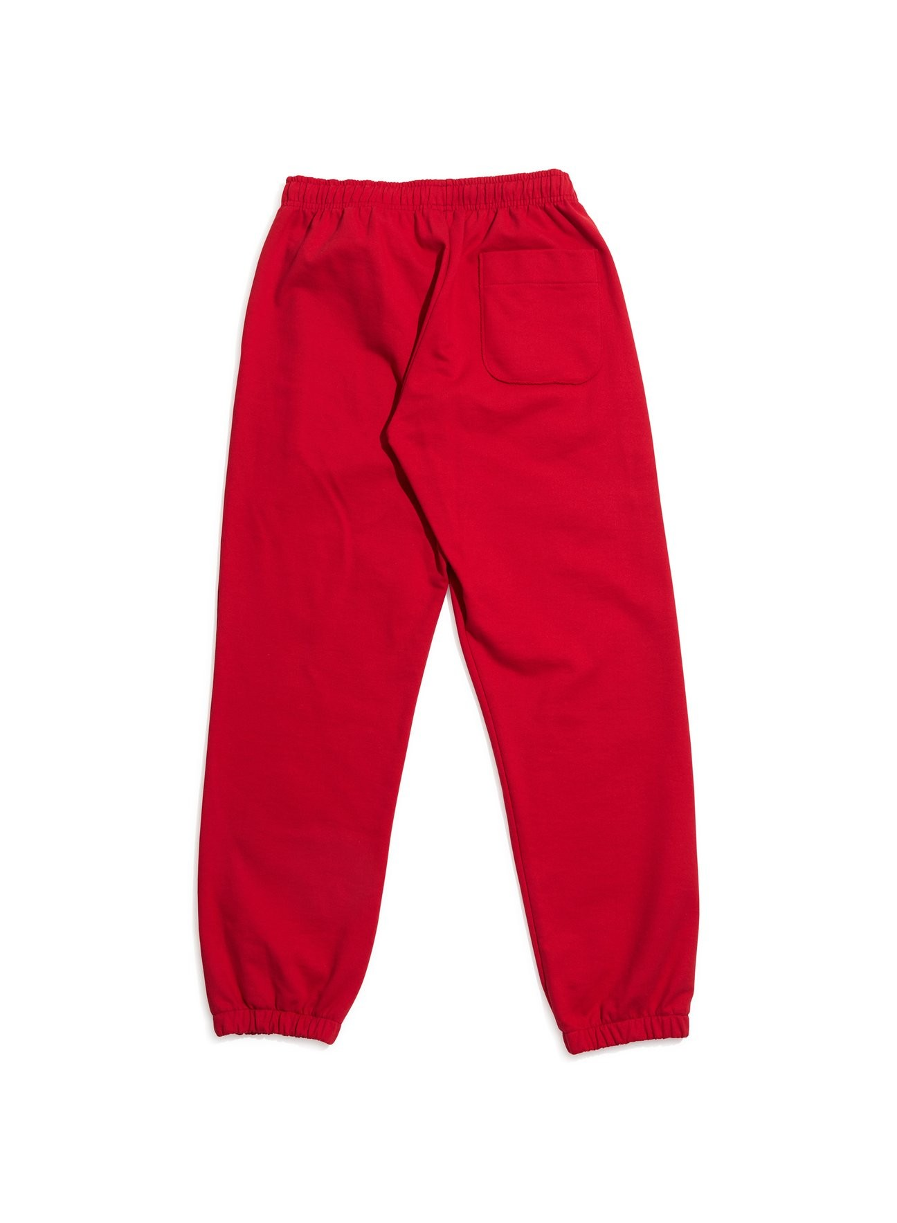 Paccbet Mens Printed Trackpants Red