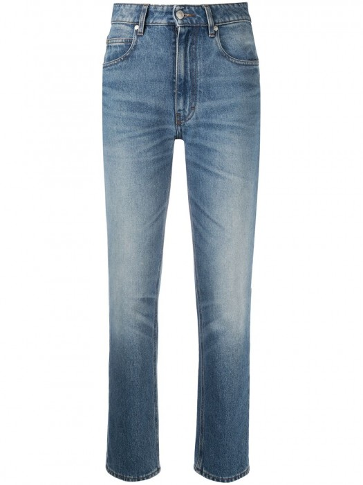 Ami Straight Fit Jeans Blue 480