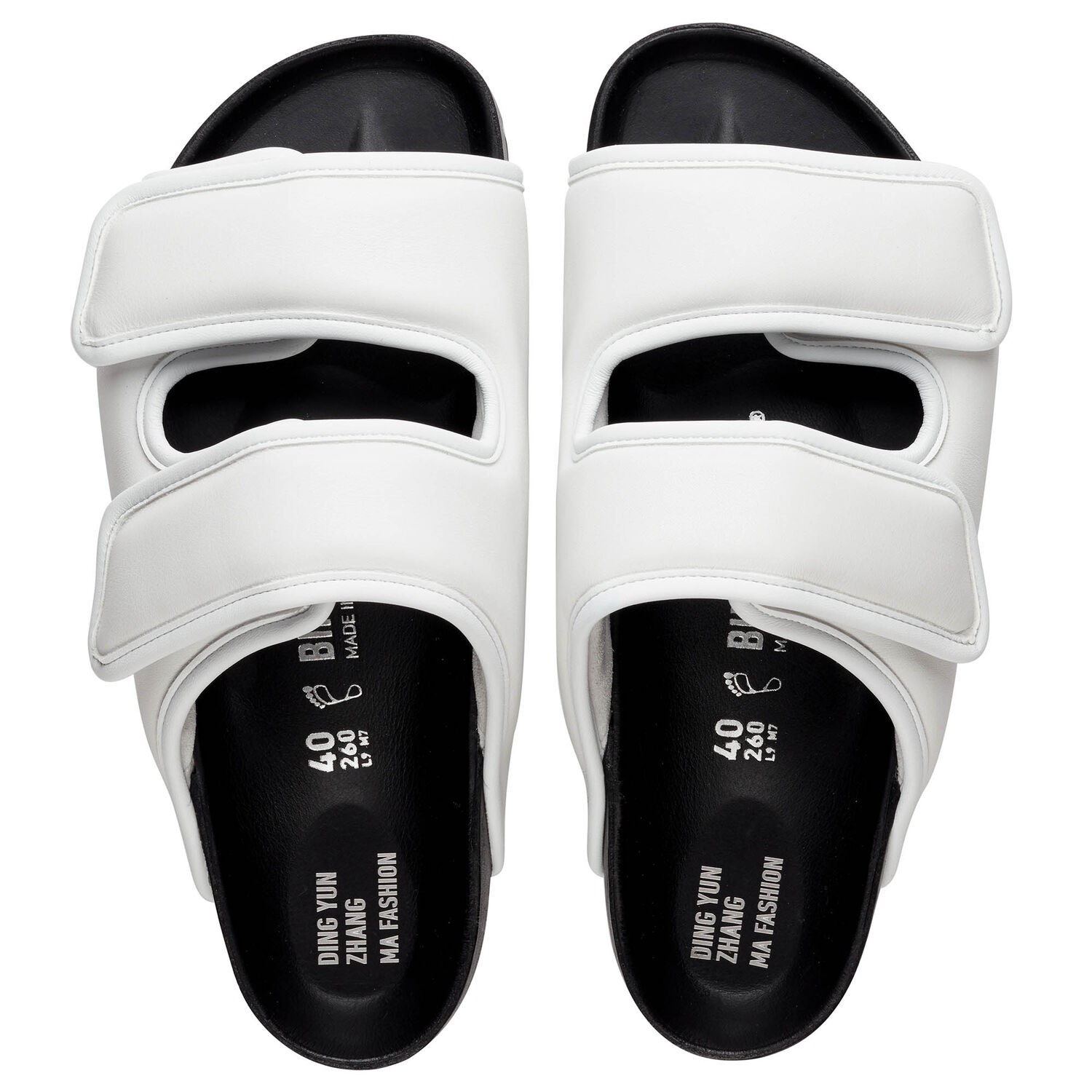 1774 BIRKENSTOCK Cosy By Dingyun Zhang White
