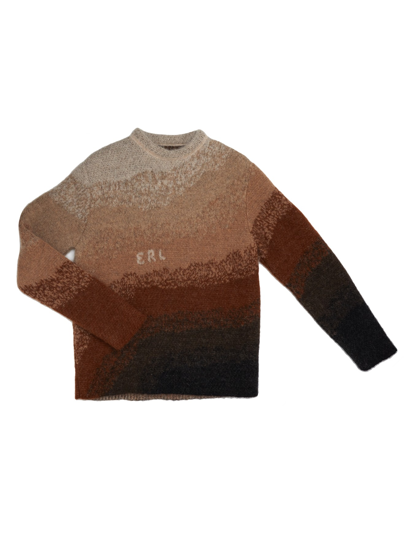 ERL Bowy Sweater Knit Brown