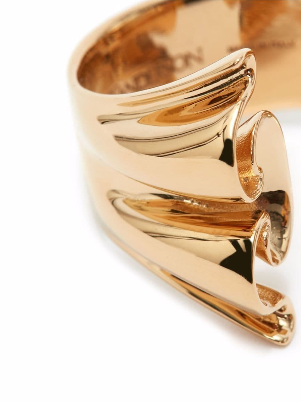 JW Anderson Folded Ring Gold