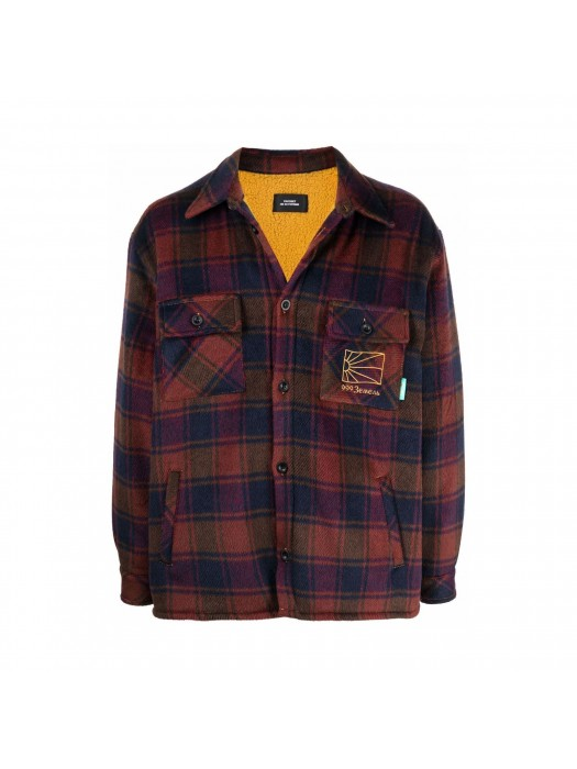 Paccbet Sherpa Lined Shirt Woven Navy