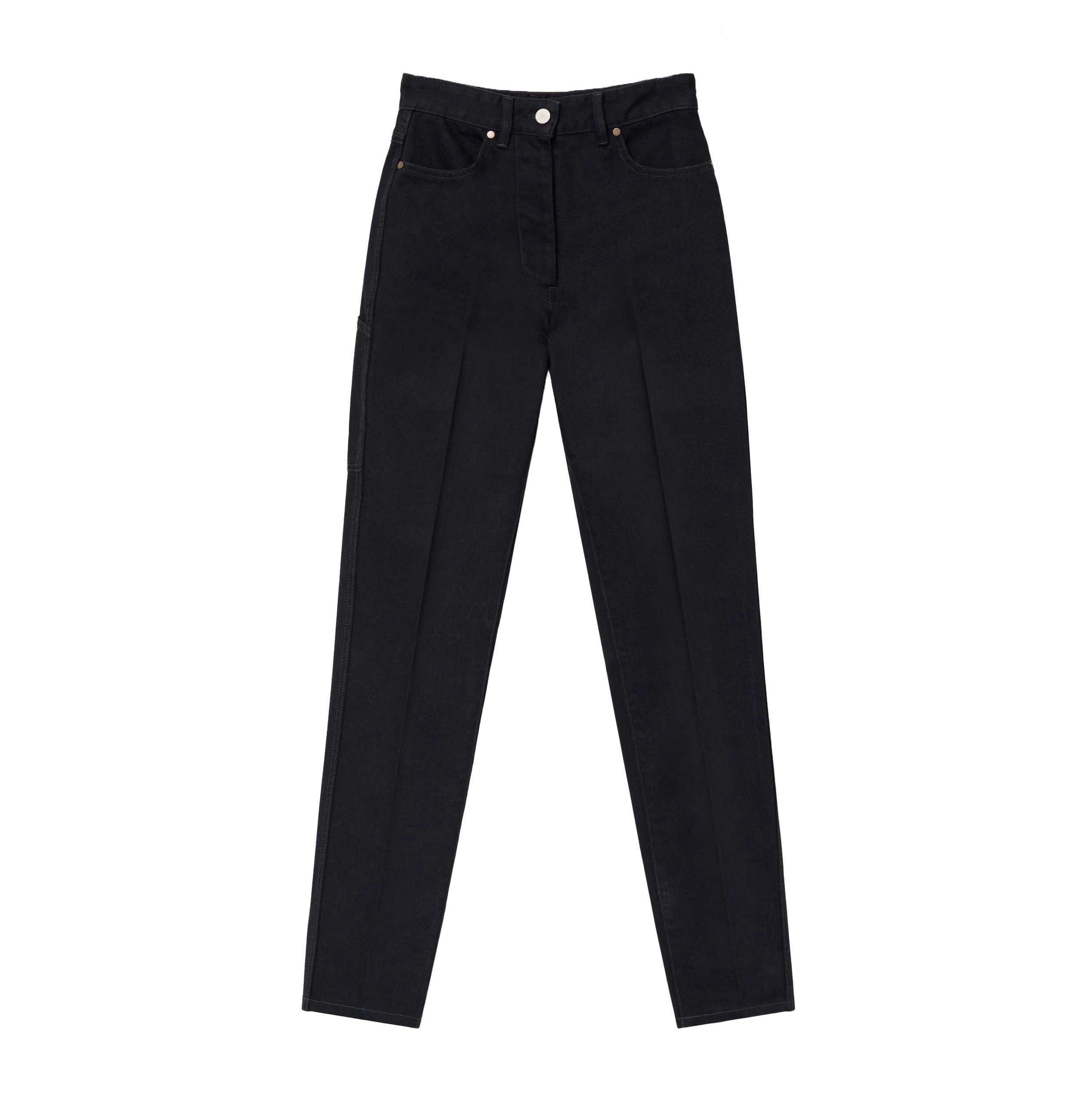 Lemaire Denim Fitted Pants
