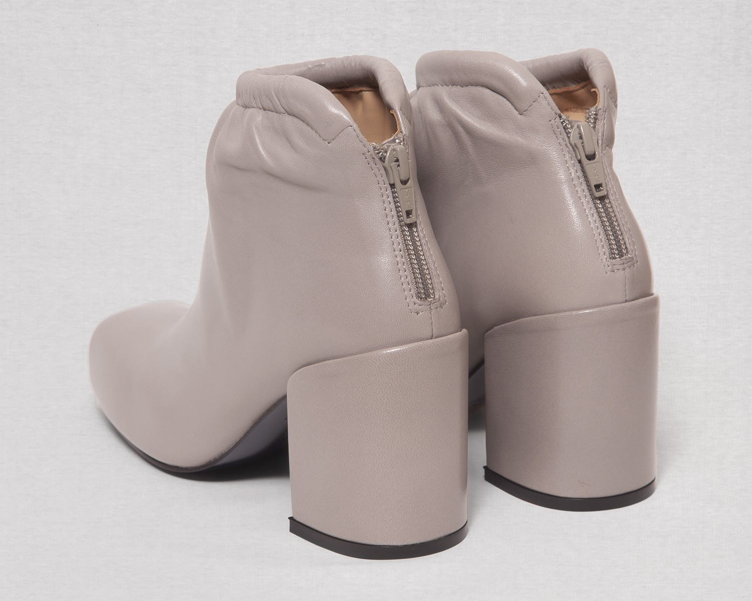 Aalto Chunky Ankle Boots with Gathering